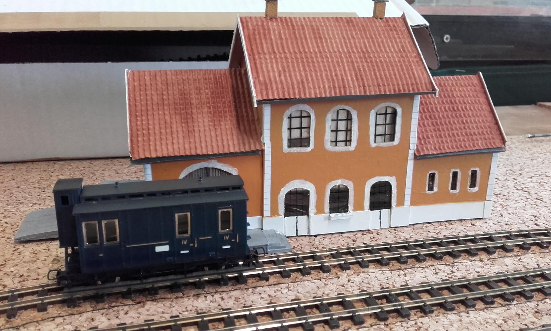 Gare de Granville Port